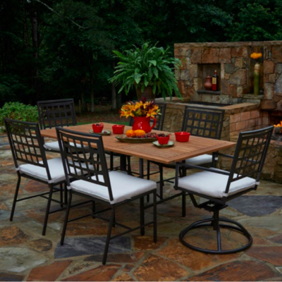 Meridian dining collection by meadowcraft cushion for Outdoor furniture quotes