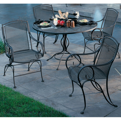 Wrought Iron Patio  on Elegant Experience With Modesto Wrought Iron Outdoor Patio Furniture