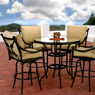 Furniture on Designs   Easy Comfort With The Origin Cast Bar Height Set By Caluco