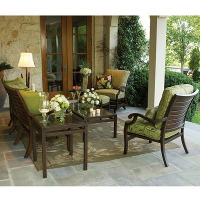 casual patio furniture palm deep seating