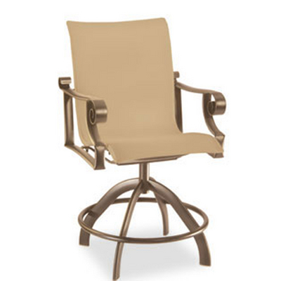 Comfortable Sling Balcony Stool with The Sophistication of Traditional Elements