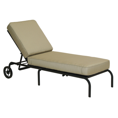 Royale chaise lounge by woodard landgrave family leisure for Casual chaise lounge