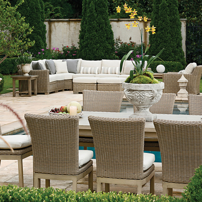 This Set Offers Vintage Appearance & Modern Materials for Your Patio or Porch