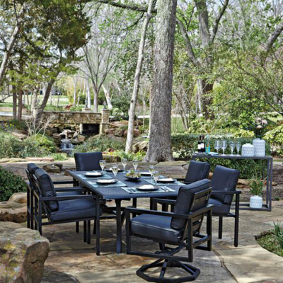 Salona dining collection by woodard outdoor patio for Outdoor furniture quotes
