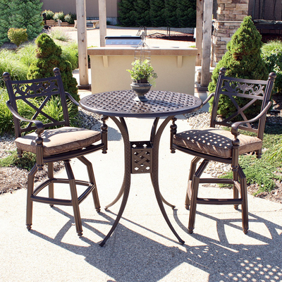 bar height southwind outdoor patio set by