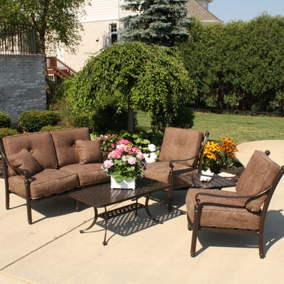 5 piece southwind deep seating patio set 1699 by. Black Bedroom Furniture Sets. Home Design Ideas