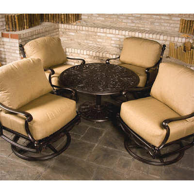 St Augustine Deep Seat Chat Height Patio Set By Hanamint