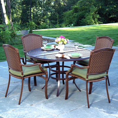 Online Patio Furniture on St  Croix Cast Dining Patio Furniture By Summer Classics   Family