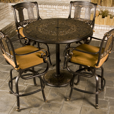 St Moritz Bar Height Patio Furniture Family Leisure