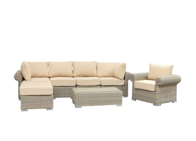 The Complete Wicker Sectional Set for Your Outdoor Space