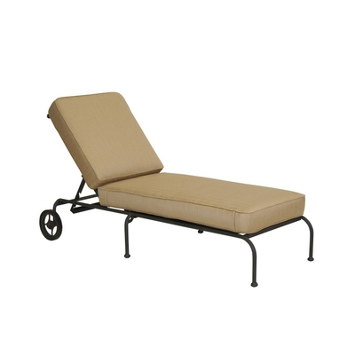 Venice chaise lounge by woodard landgrave family leisure for Casual chaise lounge