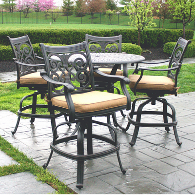 Free Patio Furniture on Victoria Counter Height Patio Furniture By Alfresco Home   Family