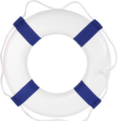 24 Lifestyle Ring Buoy Pool Supplies Family Leisure
