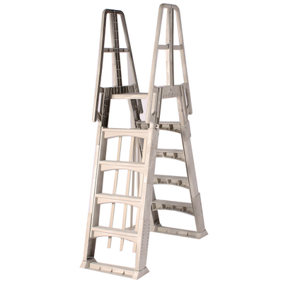 High Quality Above Ground A Frame Pool Ladders On Sale