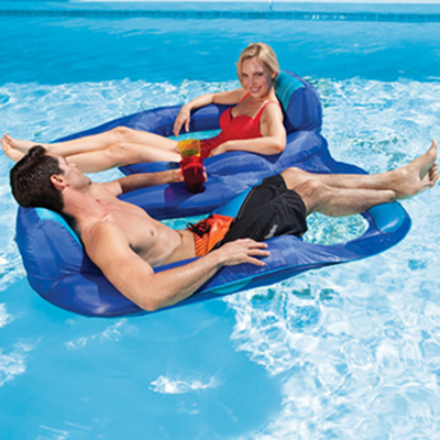 Spring Float Recliner Duet By Swimways Pool Supplies Family Leisure