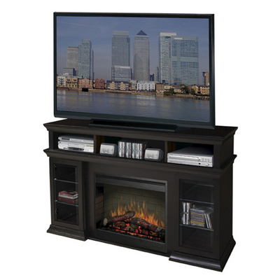 A Beautiful Piece of Furniture Offering a Media Console & Electric Fireplace