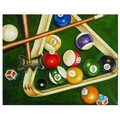 An Oil-On-Canvas Game Room Decoration at the Guaranteed Lowest Price!