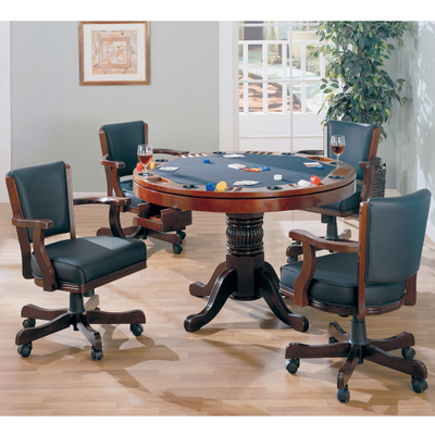 This Table Can Be Used As A Poker Table, Dining Table Or Bumper Pool Table