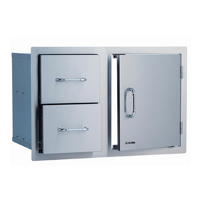 2 Drawers, 1 Door. What will you put inside?