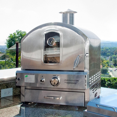 Countertop Pizza Oven Outdoor : 304 Stainless Outdoor Oven With Cart From Pacific Living Model ...