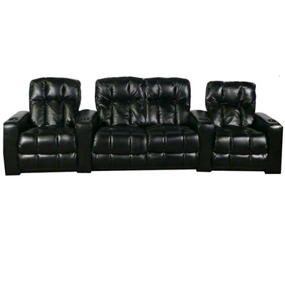 Relax in the Broadway home theater seating