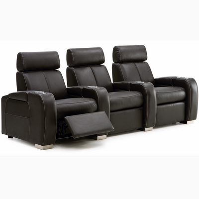 French Automobile Interiors Inspired These Stylish Private Movie Theater Seats