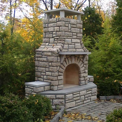 Home Plans Design Outdoor Grill Fireplaces Building Plans