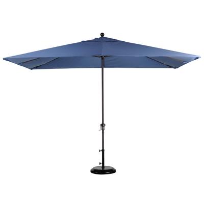 Commercial Rectangular Market Umbrella - Teak Furniture | Teak