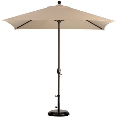 The Unique Rectangular Shape of This Patio Umbrella Will Endear & Impress