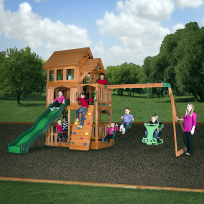 Liberty Ii Play Set By Backyard Discovery Outdoor Play