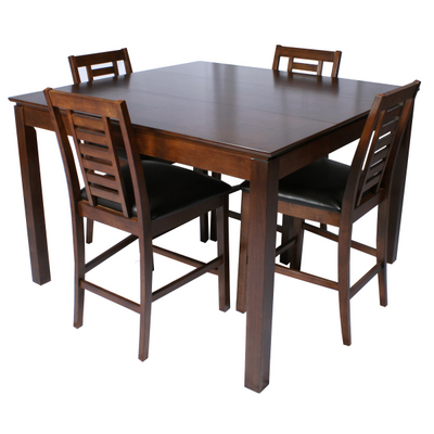 Dining Sets on Scottsdale Wood Pub Table Set With Bar Stools   Family Leisure