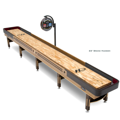An Extra-Long Shuffleboard with a 3