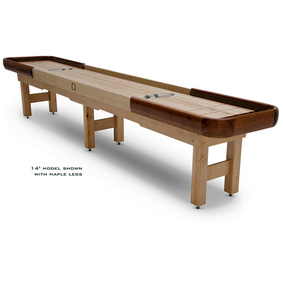 This All-Weather Outdoor Shuffleboard Will Stand Up to the Natural Elements