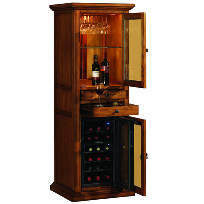 Fine Furniture, Fine Wine and Great Company. What Else Could You Need? Tresanti Does Wine Cabinets With Style and Class.