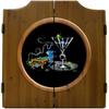 Pool Shark II Dart Board & Cabinet