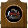 Pool Shark III Dart Board & Cabinet