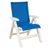 Belize Sling Chair White 2 Pack By Grosfillex Family