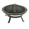 Antique Gold Wood Burning Fire Pit