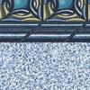 Metal Diamond Beaded Liner