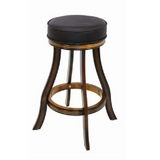 Backless Bar Stool - Chestnut