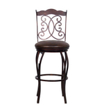 Athena Autumn Rust Bar Stool