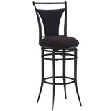 Cierra Black Bar Stool