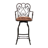 Magnolia Autumn Rust Bar Stool