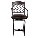 Napa Ridge Autumn Rust Bar Stool