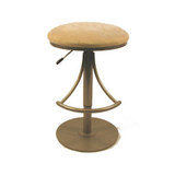 Venus Beige Backless Bar Stool