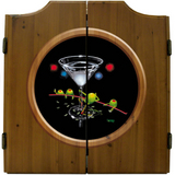 Dirty Martini Dart Board & Cabinet