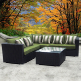 Cabana Wicker Sectional