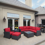 Cabo Wicker Sectional