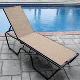 Country Club Sling Chaise Lounge - Set of 2