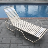 Country Club Strap Chaise Lounge - Set of 2